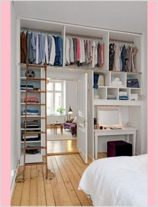 Minimalist Bedroom Design Storage Organization Ideas 33