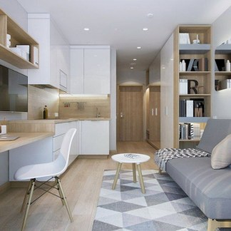 Minimalist Small Apartment Decorating Ideas Budget 15