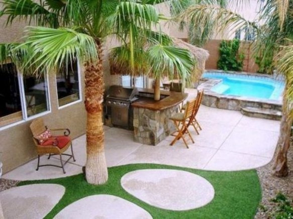 Nice Pool House Decorating Ideas On A Budget 42