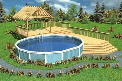 Nice Pool House Decorating Ideas On A Budget 45
