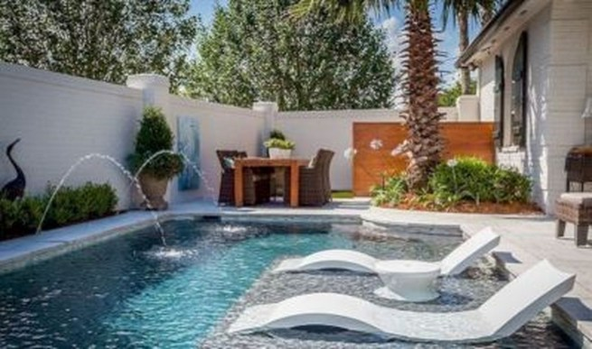 Nice Pool House Decorating Ideas On A Budget 48