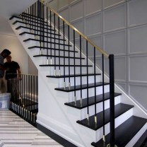 Perfect Living Room Staircase Design Ideas 08