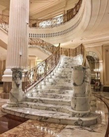 Perfect Living Room Staircase Design Ideas 26