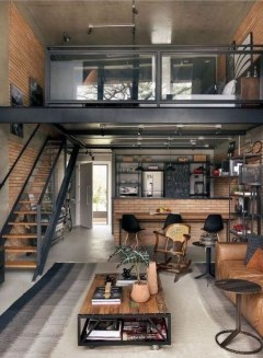 Perfect Living Room Staircase Design Ideas 32