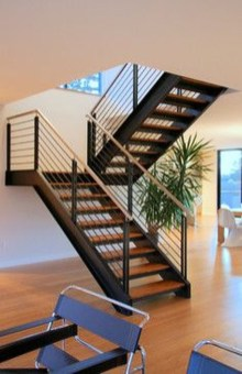 Perfect Living Room Staircase Design Ideas 42