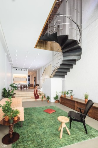 Perfect Living Room Staircase Design Ideas 52