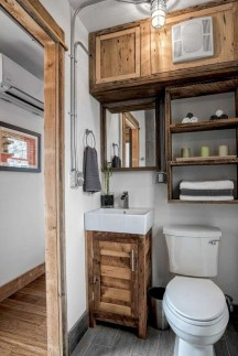 Perfect Tiny House Bathroom Design Ideas 29