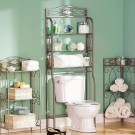 Stunning Bathroom Storage Shelves Organization Ideas 09