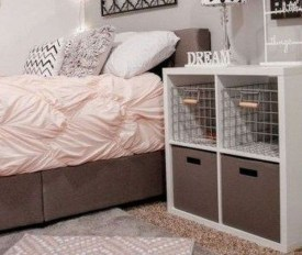 Unique Dorm Room Storage Organization Ideas On A Budget 12