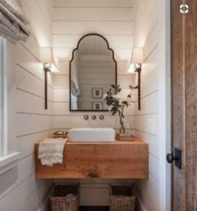 Wonderful Farmhouse Bathroom Decor Ideas 01