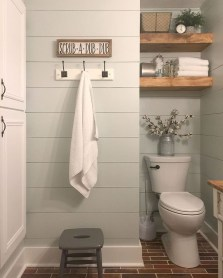 Wonderful Farmhouse Bathroom Decor Ideas 11