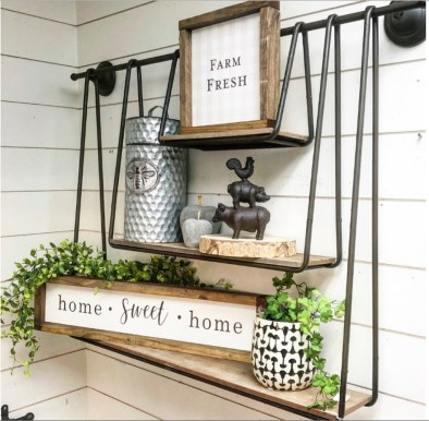 Wonderful Farmhouse Bathroom Decor Ideas 15