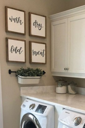Wonderful Laundry Room Storage Organization Ideas On A Budget 15