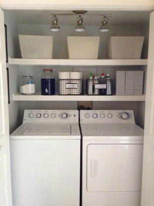 Wonderful Laundry Room Storage Organization Ideas On A Budget 18