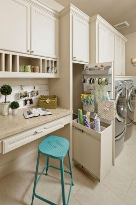 Wonderful Laundry Room Storage Organization Ideas On A Budget 25