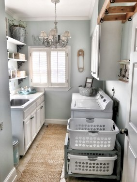Wonderful Laundry Room Storage Organization Ideas On A Budget 33
