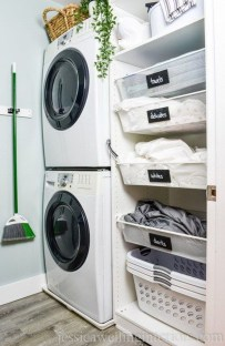 Wonderful Laundry Room Storage Organization Ideas On A Budget 38