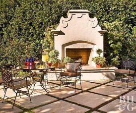Wonderful Outdoor Fireplace Design Ideas 14
