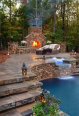 Wonderful Outdoor Fireplace Design Ideas 15