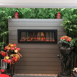 Wonderful Outdoor Fireplace Design Ideas 29