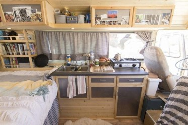 Wonderful Rv Camper Van Interior Decorating Ideas 04