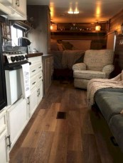 Wonderful Rv Camper Van Interior Decorating Ideas 37