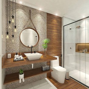 Best Small Bathroom Decoration Ideas 46