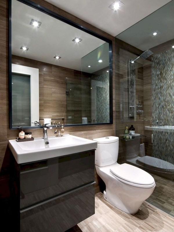 Best Small Bathroom Decoration Ideas 52