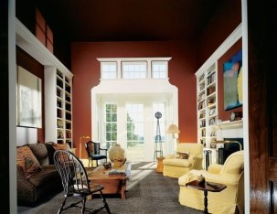 Charming Living Room Designs Ideas With Combinations Of Brown Color 12
