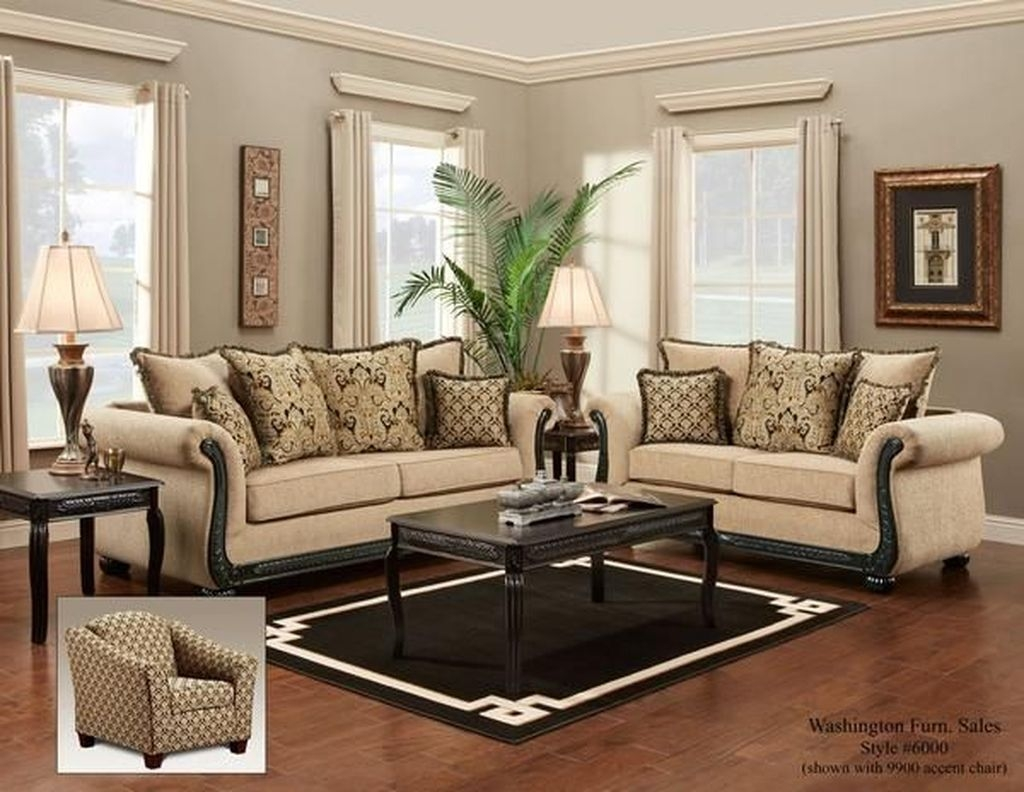 Charming Living Room Designs Ideas With Combinations Of Brown Color 33