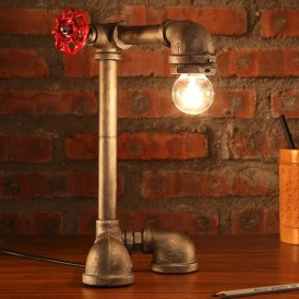 Cool Diy Industrial Pipe Lamps Ideas 13