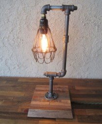 Cool Diy Industrial Pipe Lamps Ideas 46