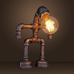 Cool Diy Industrial Pipe Lamps Ideas 48