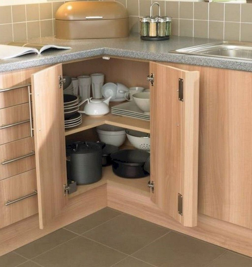 Enchanting Cabinets Design Ideas To Save Your Goods 53
