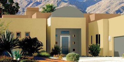 Flawless Exterior House Paint Ideas With Yellow Colors 33