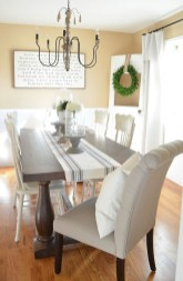 Inspiring Farmhouse Dining Room Design Ideas 23