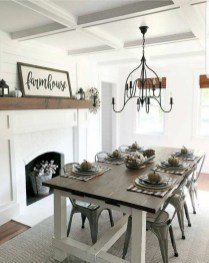 Inspiring Farmhouse Dining Room Design Ideas 27