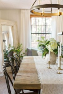 Inspiring Farmhouse Dining Room Design Ideas 46