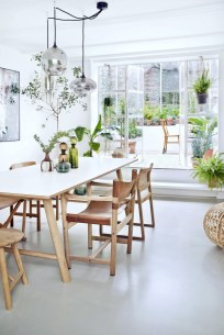 Inspiring Farmhouse Dining Room Design Ideas 47