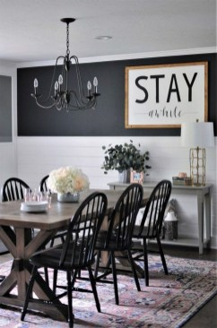 Inspiring Farmhouse Dining Room Design Ideas 51