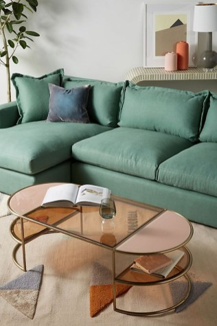 Marvelous Glass Coffee Tables Ideas For Living Room 16