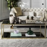 Marvelous Glass Coffee Tables Ideas For Living Room 17