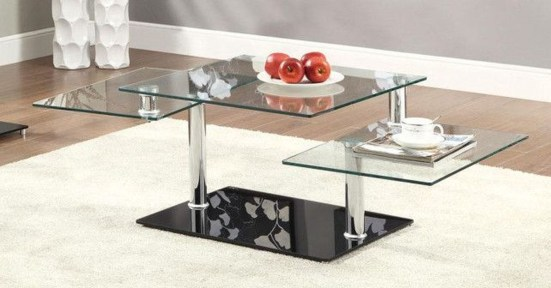 Marvelous Glass Coffee Tables Ideas For Living Room 29