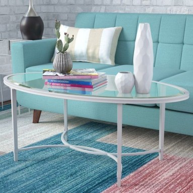 Marvelous Glass Coffee Tables Ideas For Living Room 31