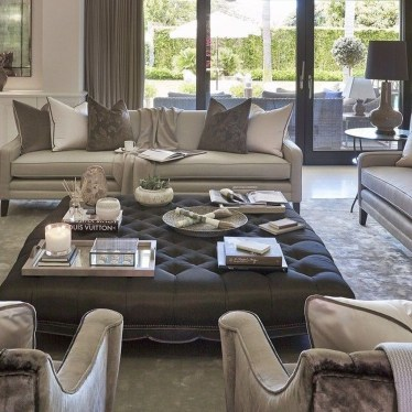 Relaxing Large Living Room Decorating Ideas 19