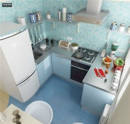 Stunning Small Kitchen Design Ideas For Home 07