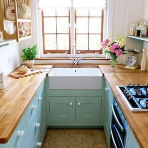Stunning Small Kitchen Design Ideas For Home 46