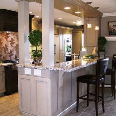 Stunning Small Kitchen Design Ideas For Home 50