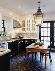 Stylish French Country Kitchen Decor Ideas 01