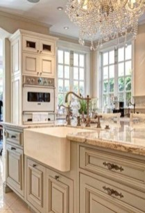 Stylish French Country Kitchen Decor Ideas 23